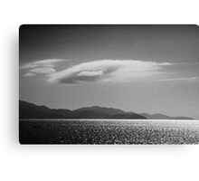 Trinity Inlet 4 in B&W Canvas Print