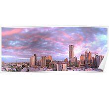 Brisbane City - Sunset  - HDR Poster