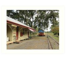 The End of the Line. Historic Kandanga Station, Mary Valley. QLD Art Print