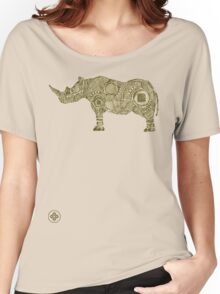 rhinoceros sketch Women's Relaxed Fit T-Shirt