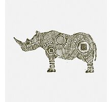rhinoceros sketch Photographic Print