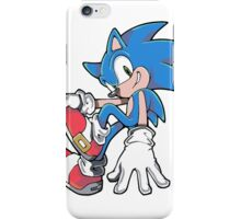 Sonic Sitting iPhone Case/Skin