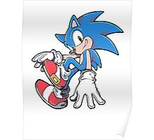 Sonic Sitting Poster