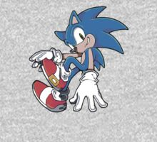 Sonic Sitting One Piece - Long Sleeve