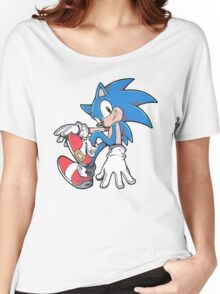 Sonic Sitting Women's Relaxed Fit T-Shirt