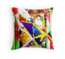 Digital Dali Throw Pillow