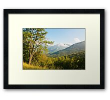 After the Rain is Gone Framed Print