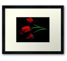 Romance ! Framed Print