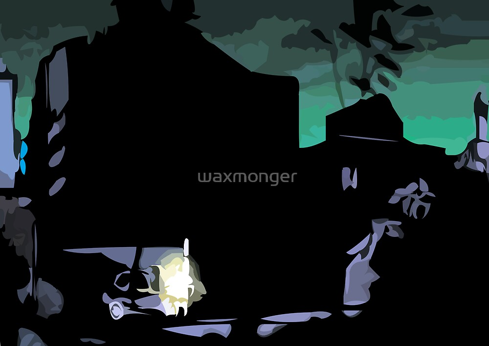 don't go out alone by waxmonger