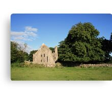 Dysert ruins Canvas Print