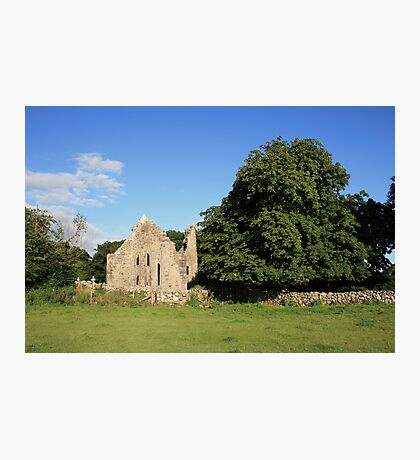 Dysert ruins Photographic Print