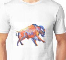 Colorful bison Unisex T-Shirt