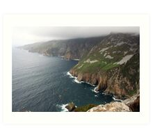 Donegal Cliffs Art Print