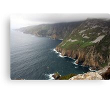 Donegal Cliffs Canvas Print