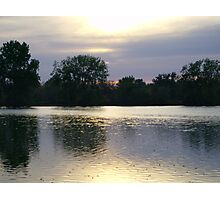 Perfect Lake View 3 Photographic Print