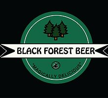 Black Forest Beer logo by geekwear