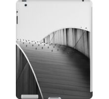 Kauffman Center Curves and Shadows Black and White iPad Case/Skin