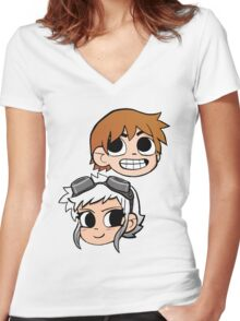 2-Up! Colour Edition Women's Fitted V-Neck T-Shirt