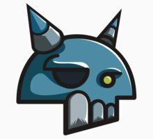 My logo skull by weckr