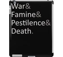 Four Horsemen of the Apocalypse iPad Case/Skin