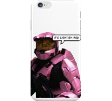 it's lightish red iPhone Case/Skin