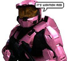 it's lightish red by katefolsom