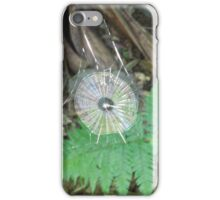 Sparkling Spider Web, Sea Acres Rain Forest, Port Macquarie, Nth. N.S.W. iPhone Case/Skin