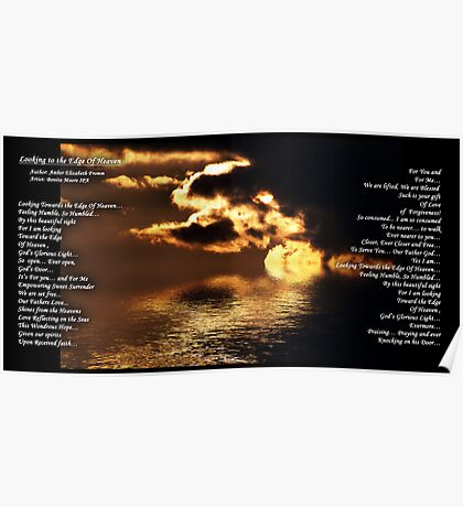 LOOKING TO THE EDGE OF HEAVEN Poster
