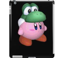 eggzalent kirby dezign :] iPad Case/Skin