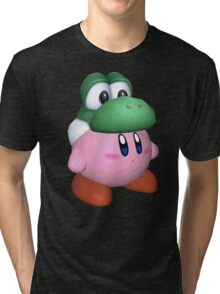 eggzalent kirby dezign :] Tri-blend T-Shirt