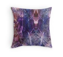Below the Surface of the Sea Throw Pillow