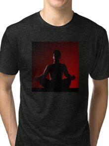 Power of meditiation... Tri-blend T-Shirt