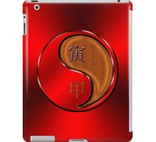 Tiger Yang Wood  iPad Case/Skin