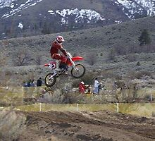 Honeylake MX - Milford Creek, CA Nice Air shot! Celebrating Loretta Lynns' Qualifier!  USA  by leih2008