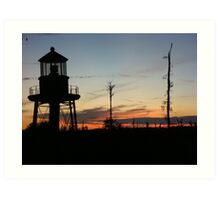 Cory's Lighthouse 2 Art Print
