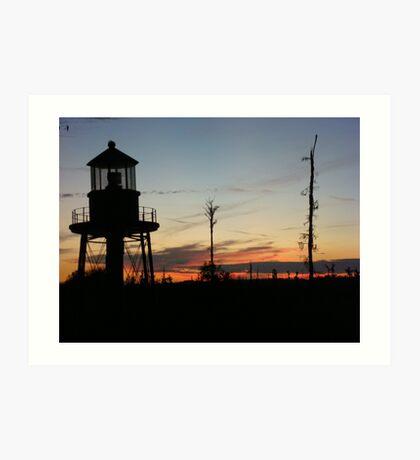 Cory's Lighthouse 2 Art Print