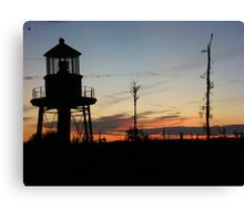 Cory's Lighthouse 2 Canvas Print