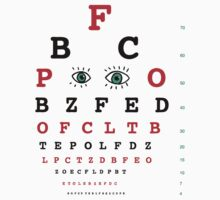 Eye Chart by David Barneda