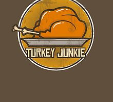 Turkey Junkie by MomfiaTees
