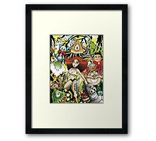 Disfunctional Reality Framed Print