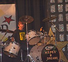 Drumming!  Any age is GREAT!  Hopes & Dreams talent show photo taken Los Coyotes Middle School - Drummer 12 years old by leih2008