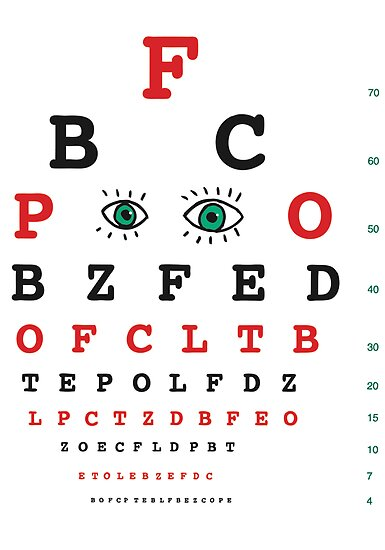 Eye Chart by David Barneda
