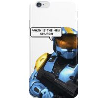 wash is the new church iPhone Case/Skin