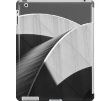 Kauffman Center Black and White Curves and Shadows iPad Case/Skin