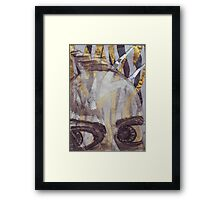 Pained Too Framed Print