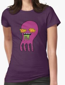 All your brains are belong to us Womens Fitted T-Shirt
