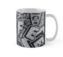 Coffee Chalk Sketch Mug