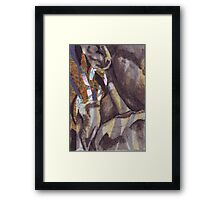 Pained Third Framed Print