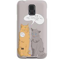 Damn, PETA Is Really Cracking Down This Year! Samsung Galaxy Case/Skin