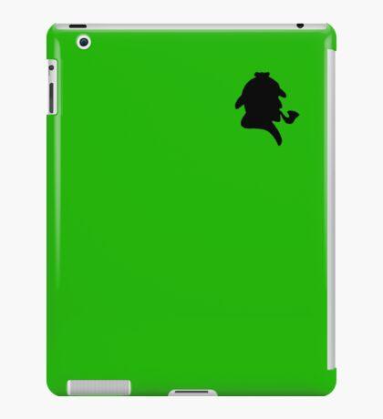Sherlock Silhouette iPad Case/Skin